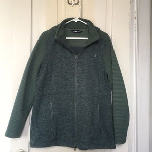 EUC North Face Indi sweatshirt/jacket!!!!!